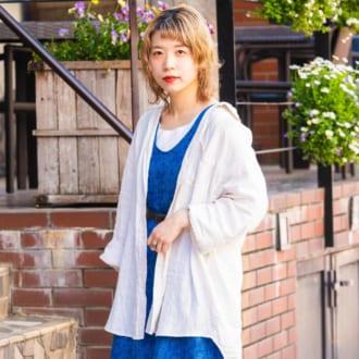 【Today's merSNAP】ロングワンピはゆるっと着るのが旬!