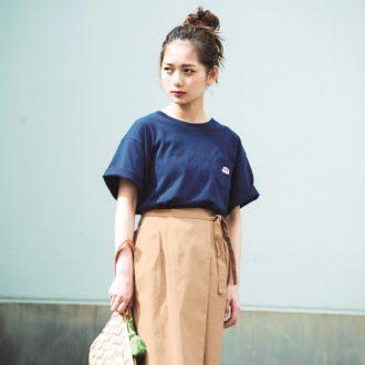 【7/8のコーデ】上品なミモレ丈スカートでプラネタリウムデートへ☆