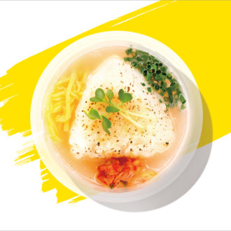 暑い夏も食欲が進む!今までになかった新感覚の「冷やしスープおにぎり」って?