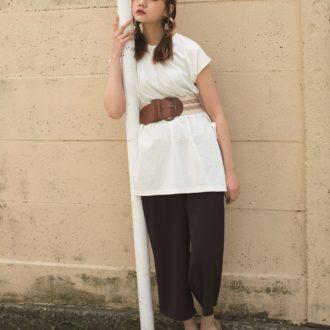 【明日のコーデ】こなれ白Tシャツで作る、帰省にぴったりなリラックスコーデ!