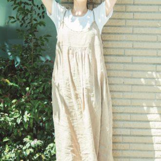 【明日のコーデ】キャミワンピをレイヤード♡ 夏のゆるリラスタイル