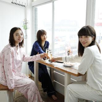 2490円なんて信じられない!GUの高見えパジャマで女子力UP♡