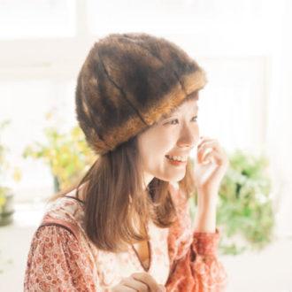 「柴田紗希とカオリノモリ」新作ファー帽子のストーリームービーを公開!
