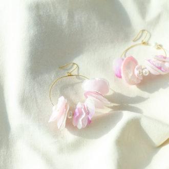 理想のピアスを作れる♡ ハンドメイドアクセサリーの基本の「き」  〜お花モチーフ編〜