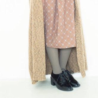 タイツと靴はどう合わせる? 真冬の足元おしゃれをマスター