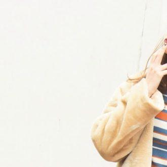 """【明日のコーデ】カラフルボーダーで""""レトロ可愛い""""を実現!"""
