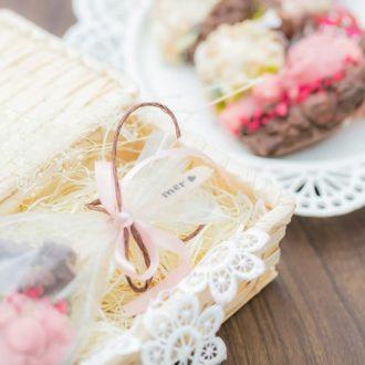 【オーブン&型なし!当日でもできるバレンタインレシピ】ハートのクランチチョコバー♡