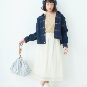 【明日のコーデ】白の透け感スカートで春コーデのマンネリ化とおさらば♡