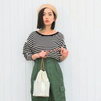 【春夏版】シンプルなのにほめられる、カーキパンツ&スカートのこなれコーデ集