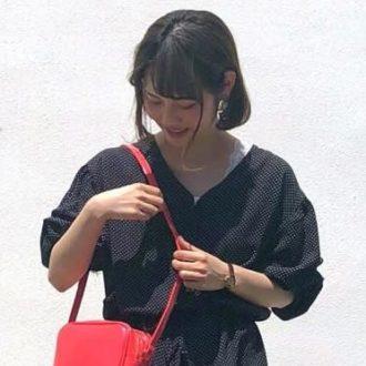 """街のオシャレさん発!1番旬な """"ドット柄"""" の着こなし"""
