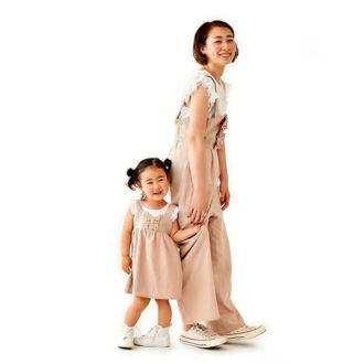 【1度きりの予約販売】ママとおそろいコーデができちゃう! flowerの子供服が可愛すぎ♡