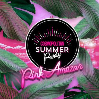 """""""ピンク・アマゾン""""が東京に出現!?1日限りのサマーパーティ「COSMOPOLITAN SUMMER Party」に行ってみない?"""