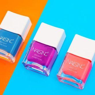 【6/1発売】「NAILS INC」の新色は大人女子が使えるネオンカラー!