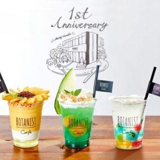 1周年記念!「BOTANIST cafe」の限定メニューが豪華すぎる