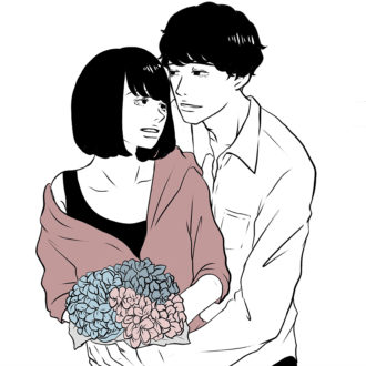 【masuda miku連載】大人の胸きゅん恋愛漫画vol.1 「移り気の花」