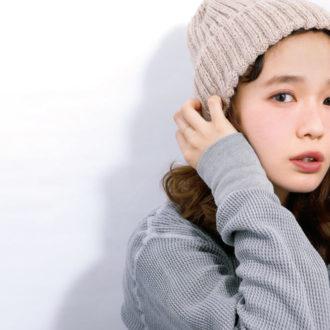 """アンニュイ顔になりたい女子急増。""""+紫""""でつくる旬顔メイクテク"""