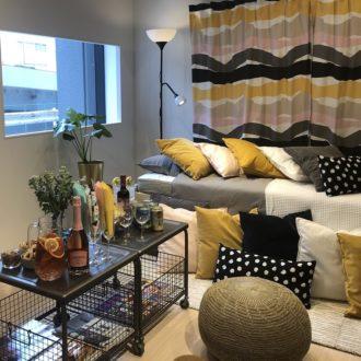 一人暮らしの部屋に「イケア」のプチプラ高機能家具が使える