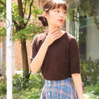 """【明日のコーデ】意外と知らない?夏の""""ブラウンコーデ""""はこなれて見える!"""