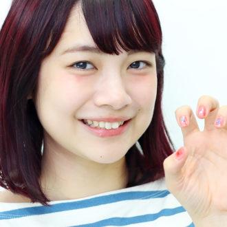 旬のネイルをもっと可愛く!宮崎葉のオリジナルチークネイルLESSON動画♡