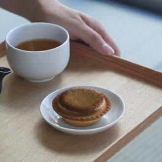 芳ばしさが口一杯に広がる!絶品『加賀棒茶チーズタルト ほうじたて』が人気