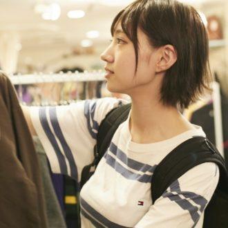 太田夢莉の「行かないとないもの」/ユニセックスな下北沢の古着屋『Husky』