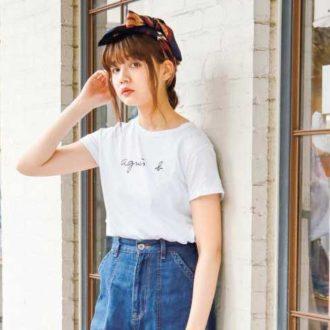 【明日のコーデ】ブランドTシャツ1枚でキマる!大人の休日コーデ