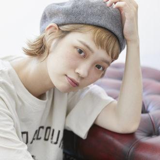 【動画】ショート・ボブがオシャレ見え! 村濱遥流 ベレー帽のかぶり方