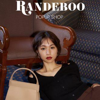 オシャレ女子が熱狂中♡「RANDEBOO」のPOP-UP SHOPが新宿で開催