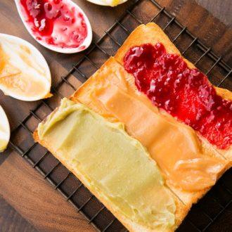 【大阪merプレス】モーニングするならここ!高級食パン&ジャムが味わえる『高級食パン 嵜本&jam』