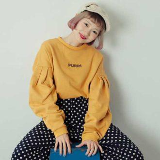 究極のゆるカワ♡  merlot×ちょこびの大人気「ボリューム袖」が話題です!