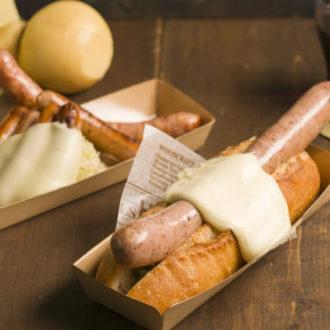 横浜赤レンガ倉庫クリスマスマーケット とろ~りチーズがたまらない『Cheese Dish Factory』登場!