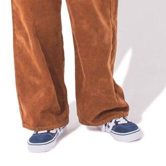 コーデュロイパンツを最大限に着まわしたい!あなたはゆるずる派?カッチリ派?