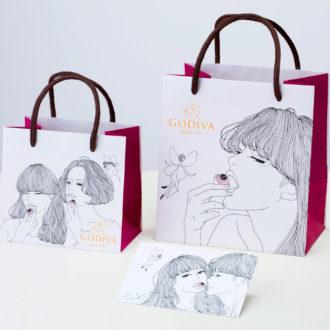 サブバッグとしても使いたい♡GODIVA×kotoka izumiのコラボショッパーがオシャレすぎ