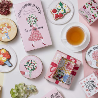 桜といちごの限定パッケージ♡ Afternoon Teaからプレゼントしたくなるティー&スイーツ登場