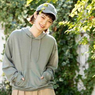 村濱遥がALLプロデュース! a.g.plusとのコラボパーカー&スカートが可愛すぎ♡