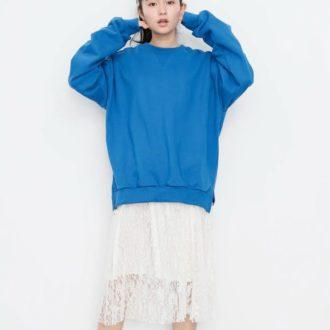 """かわいすぎ♡ DHOLICの大人気""""レーススカート""""をあべりが着まわしまーす!"""