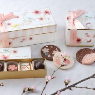 ホワイトデーや手土産にぴったり! 人気洋菓子店の桜スイーツ