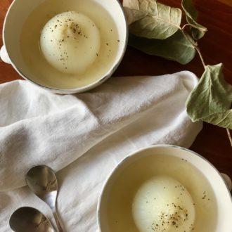 巡りアップで痩せやすい体に 〜新玉ねぎの丸ごとスープ〜