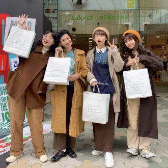 """ラフォーレ原宿に新OPEN!""""エヘカソポ""""の旗艦店にmerモデルが潜入♡"""