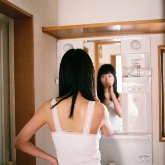 mer6月号 モデル特集の裏側!「辻千恵、すっぴん」アザーカット
