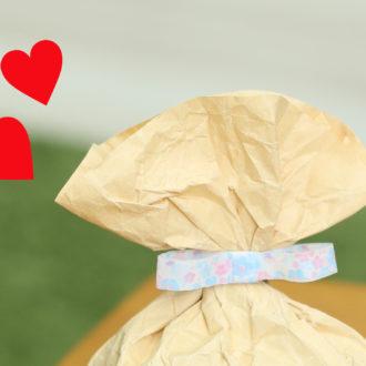 【編集しゃち子の簡単DIYレッスン】封筒で簡単!ラッピング袋 vol.2♡