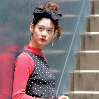 """#業界注目のファッショニスタ シネマ女優みたいなレトロコーデにうっとり♡ """"栢まり子""""さん"""