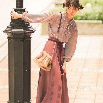 村田倫子×OLIVE des OLIVE×mer♡理想のコラボ服が誕生