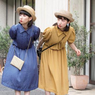 """夏は帽子を""""+1""""! カンカン帽×トレンドカラーで作るおしゃれコーデ"""