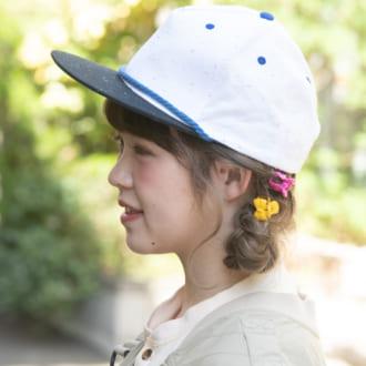 【ヘアアレSNAP】夏イベントにオススメ♡ ポップなクマさん風ヘアアレンジ