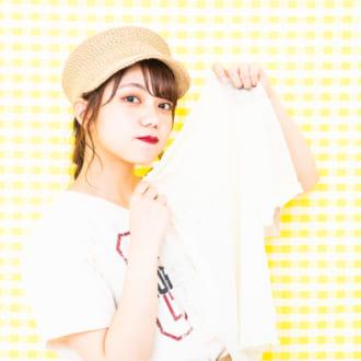 夏のTシャツレイヤード♡ モデルが教える簡単オシャ見せテク