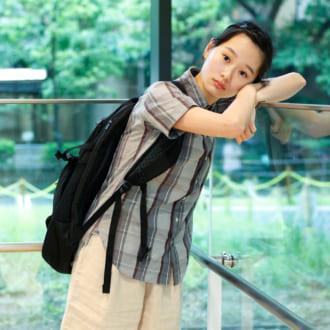 """夏トレンド代表 """"ハーフパンツ """" 。辻千恵の子供っぽく見せない3か月着まわし"""