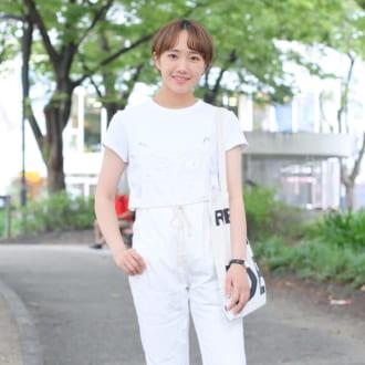 【Today's merSNAP】即アカ抜ける! 夏のオールホワイトコーデ