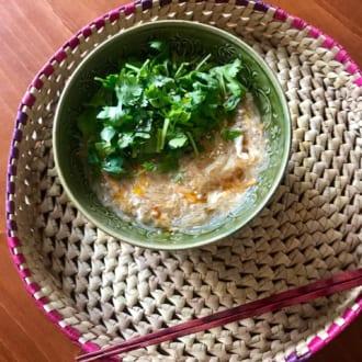 痩せやすい体を作る夏レシピ  〜具たくさんサンラータン麺〜