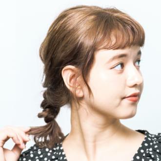 """""""くるりんぱ""""に+1♡ 3分でできるこなれヘアアレンジ"""